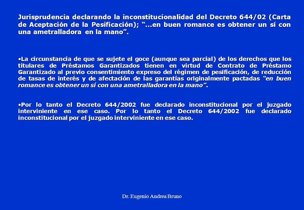 Dr. Eugenio Andrea Bruno