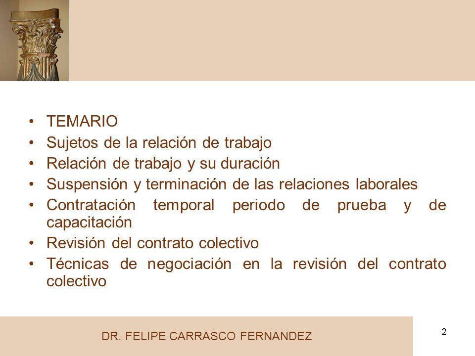DR. FELIPE CARRASCO FERNANDEZ