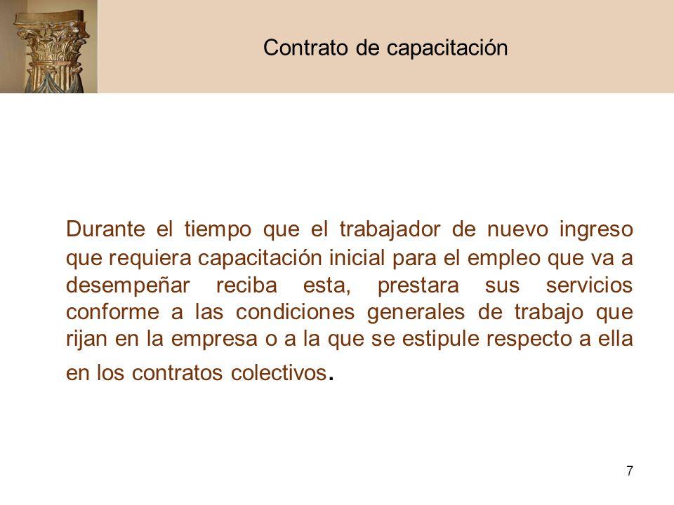 Contrato de capacitación