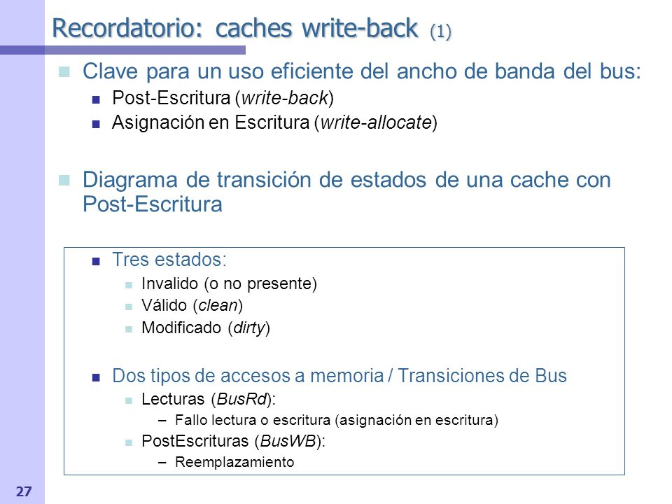 Recordatorio: caches write-back (1)