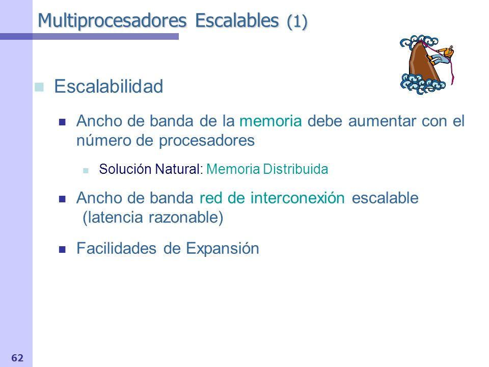 Multiprocesadores Escalables (1)