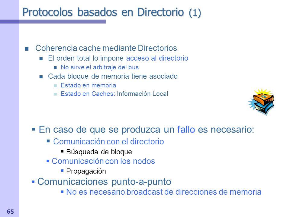 Protocolos basados en Directorio (1)