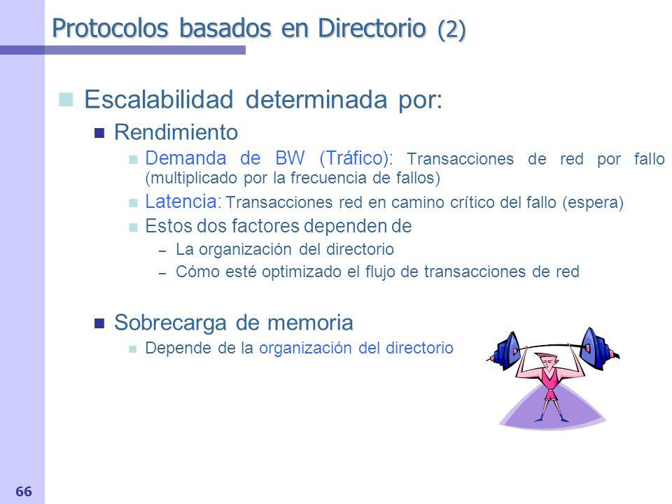 Protocolos basados en Directorio (2)