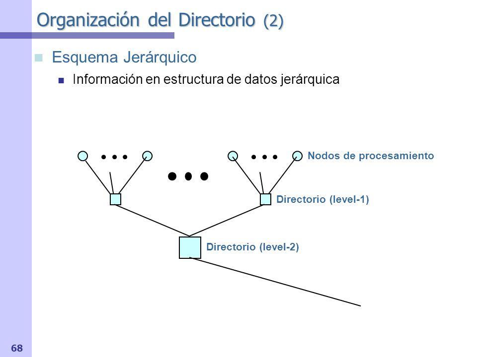Organización del Directorio (2)