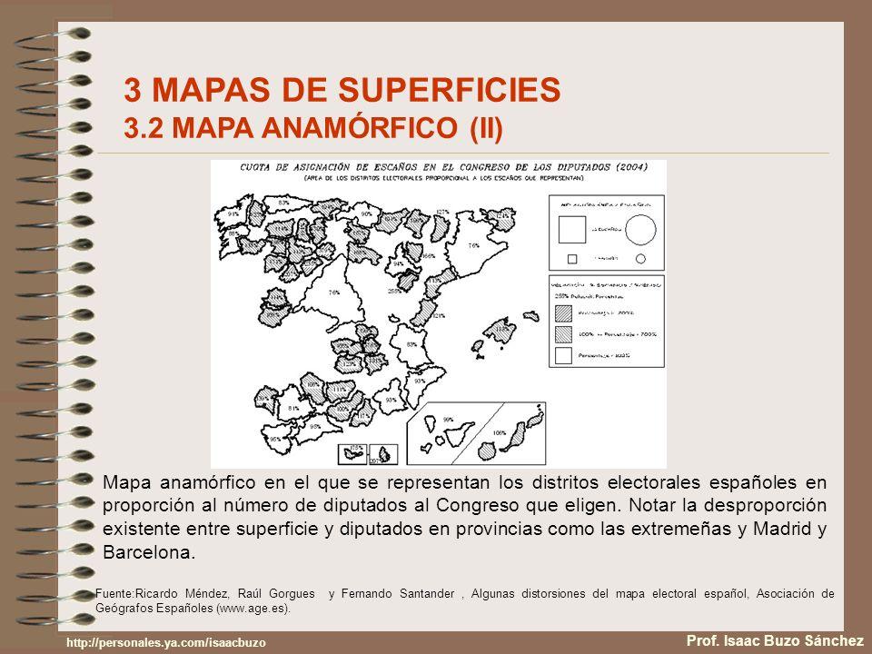 3 MAPAS DE SUPERFICIES 3.2 MAPA ANAMÓRFICO (II)