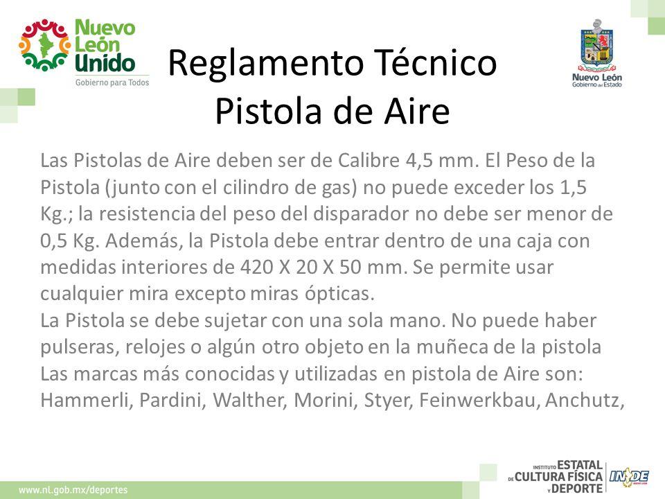 Reglamento Técnico Pistola de Aire