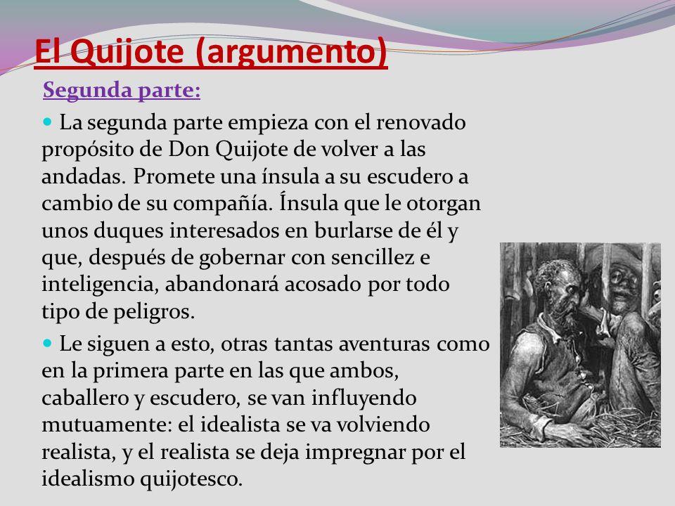 El Quijote (argumento)
