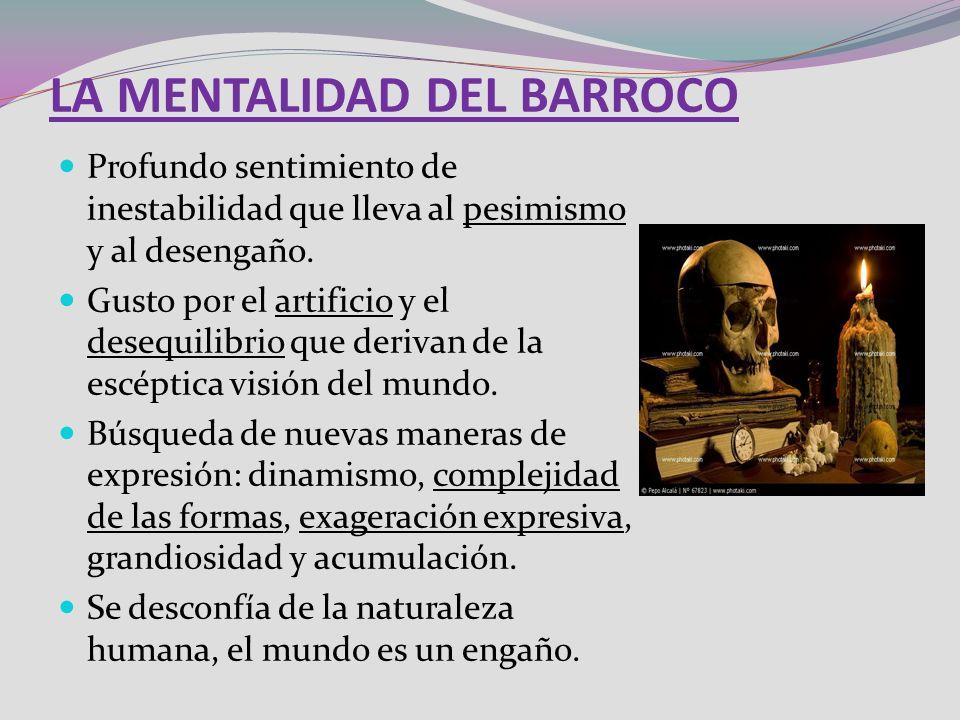 LA MENTALIDAD DEL BARROCO