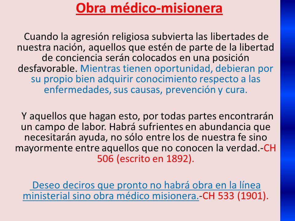 Obra médico-misionera