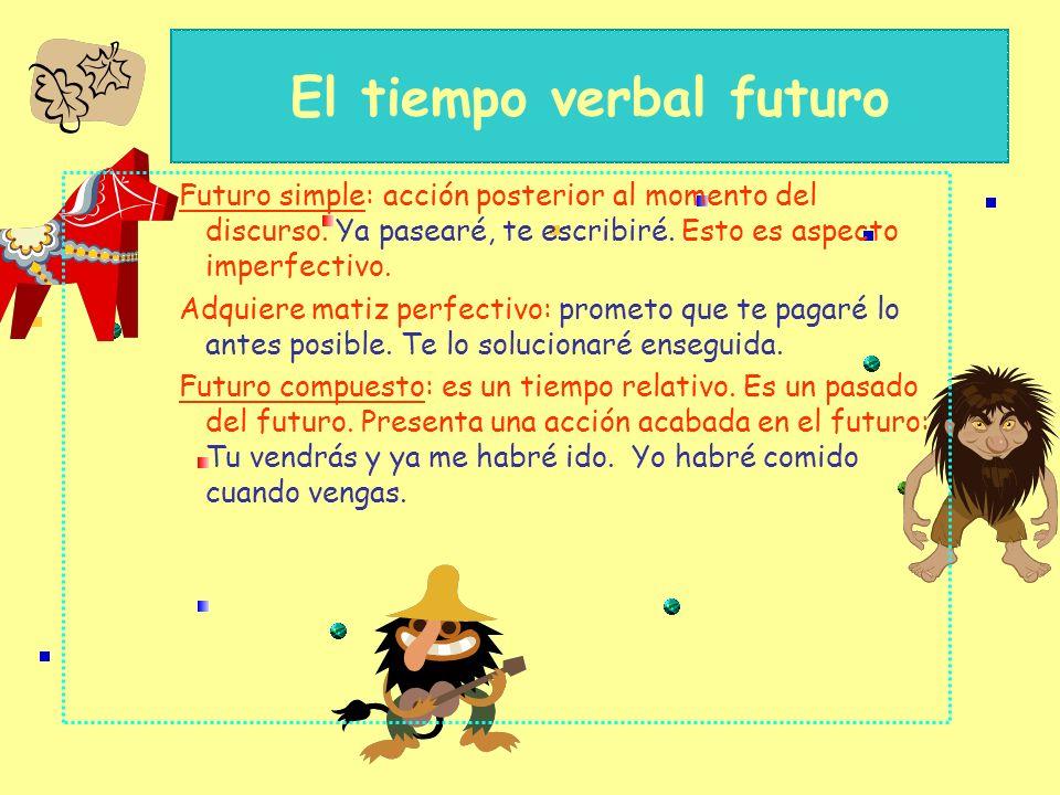El tiempo verbal futuro