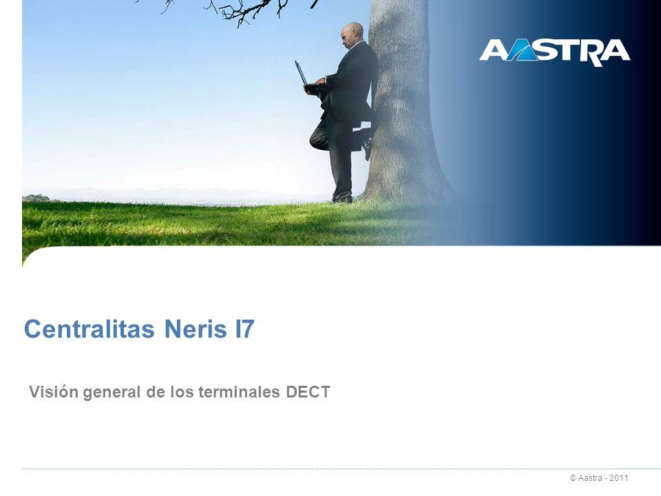 23/03/2017 Centralitas Neris I7 Visión general de los terminales DECT