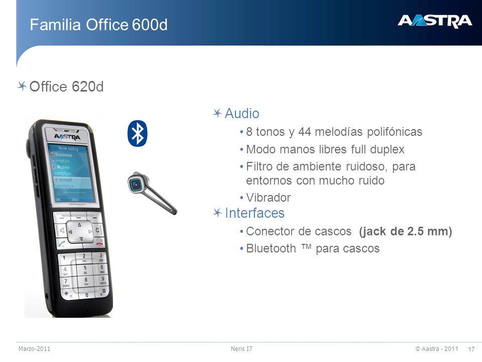 Familia Office 600d Office 620d Audio Interfaces