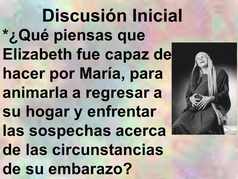 Discusión Inicial