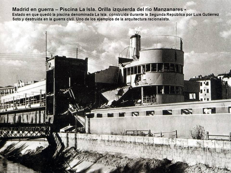 Madrid antes y en guerra m sica pera salvaje ppt for Piscina el guerra