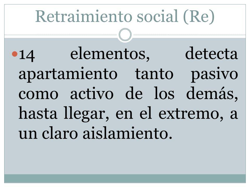 Retraimiento social (Re)