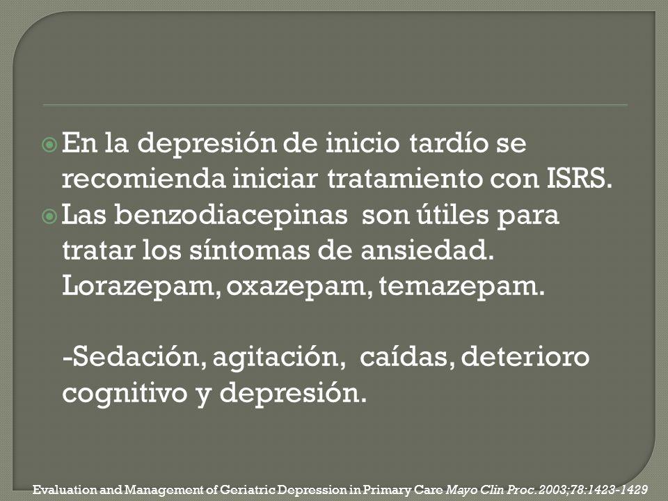 Las benzodiacepinas son útiles para tratar los síntomas de ansiedad.