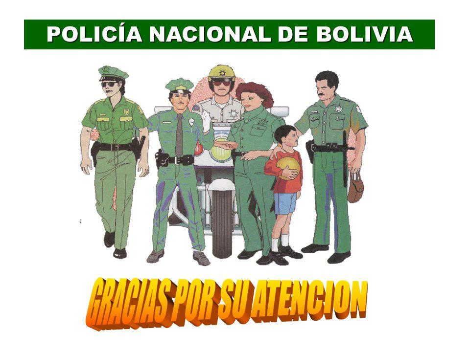 POLICÍA NACIONAL DE BOLIVIA