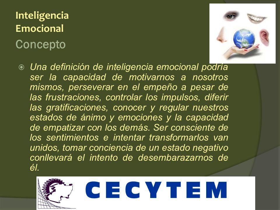 Concepto Inteligencia Emocional