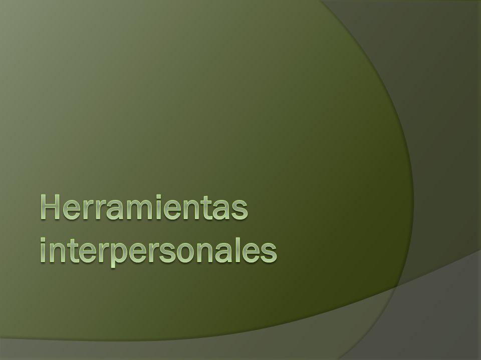 Herramientas interpersonales