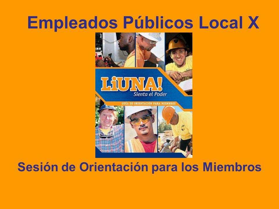 Empleados Públicos Local X