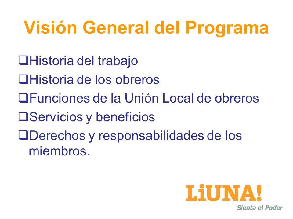 Visión General del Programa