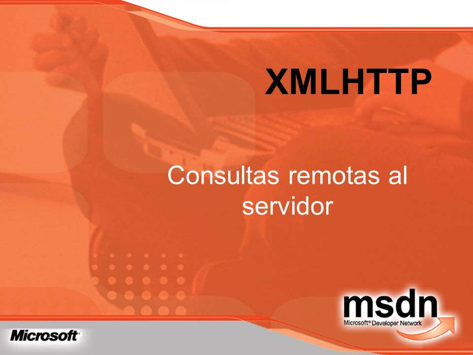 Consultas remotas al servidor