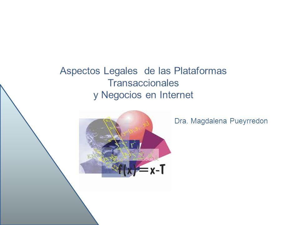 Aspectos Legales de las Plataformas Transaccionales