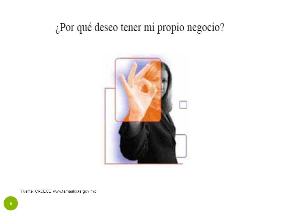 Fuente: CRCECE www.tamaulipas.gov.mx