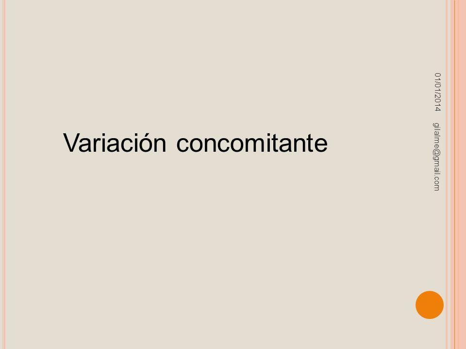 Variación concomitante