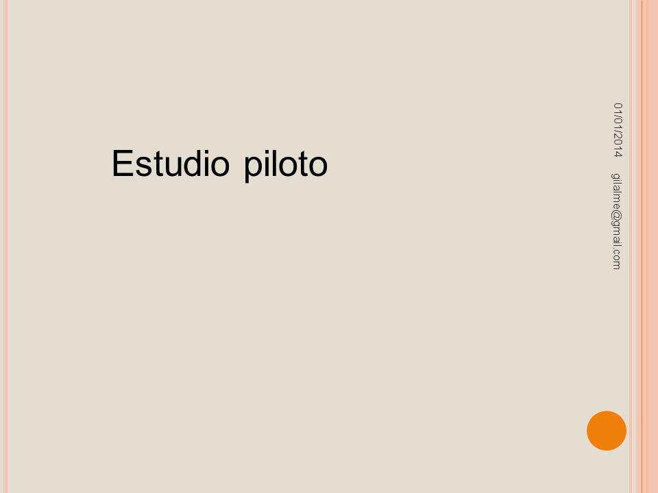 23/03/2017 Estudio piloto gilalme@gmail.com