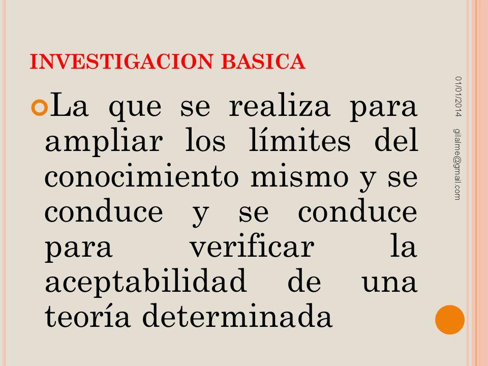 INVESTIGACION BASICA 23/03/2017.