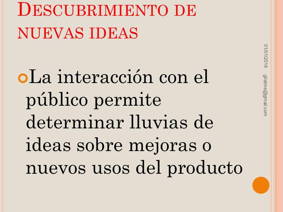 Descubrimiento de nuevas ideas
