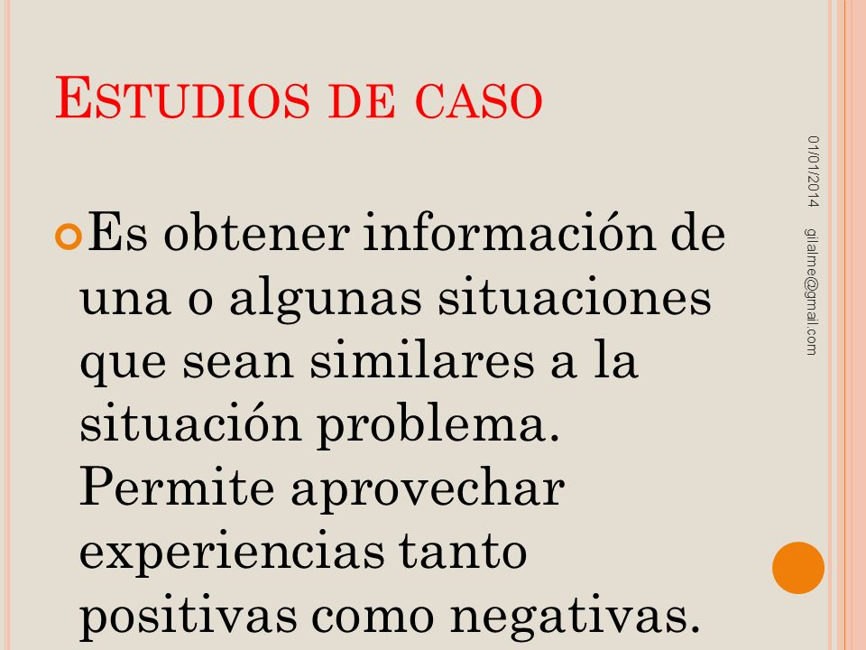 Estudios de caso 23/03/2017.
