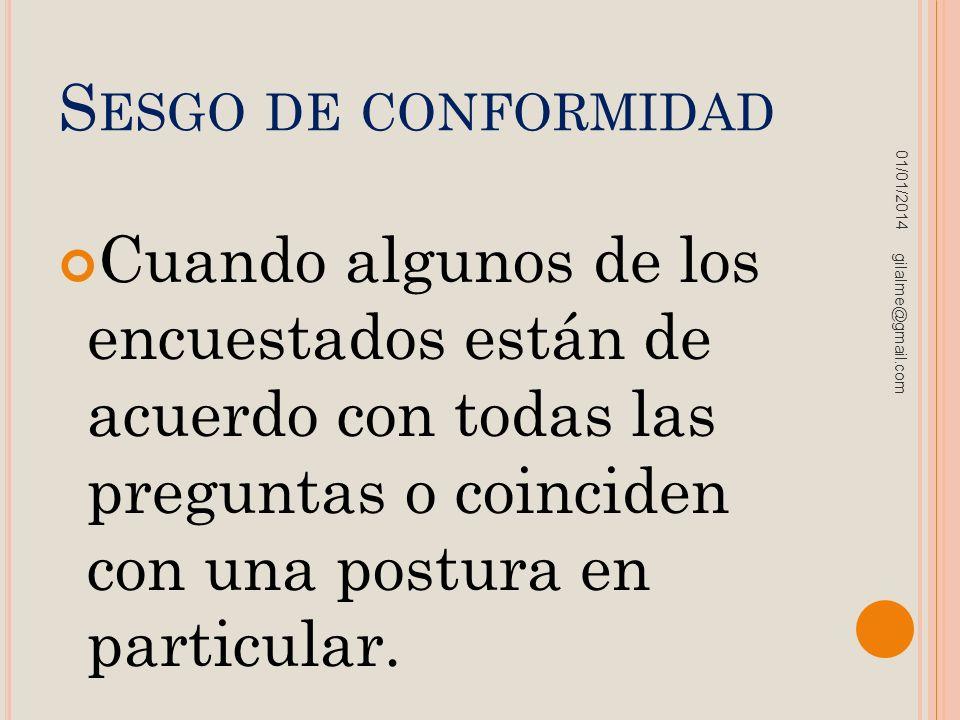 Sesgo de conformidad 23/03/2017.
