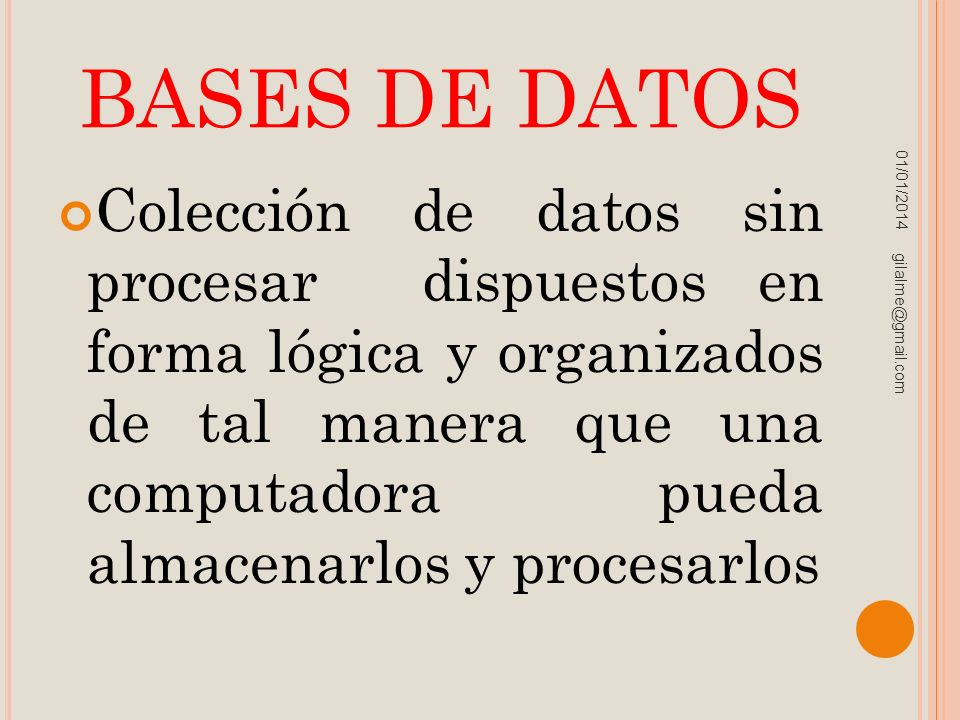 BASES DE DATOS 23/03/2017.