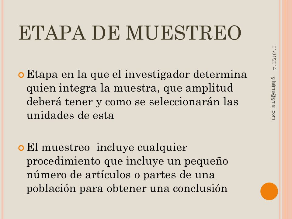 ETAPA DE MUESTREO 23/03/2017.
