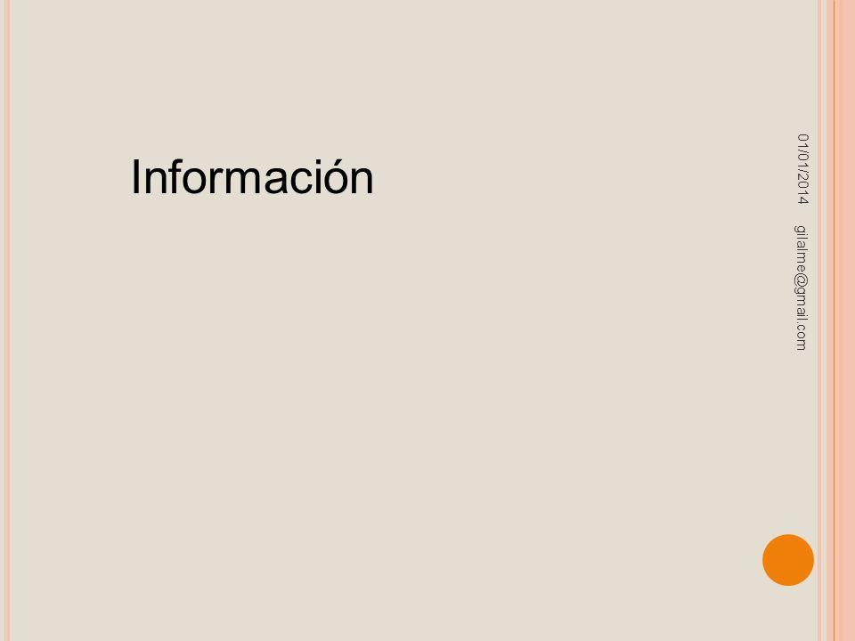 23/03/2017 Información gilalme@gmail.com