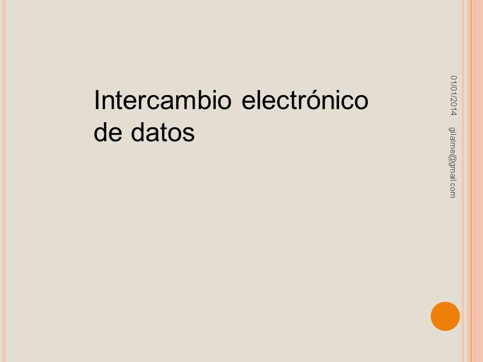 Intercambio electrónico de datos