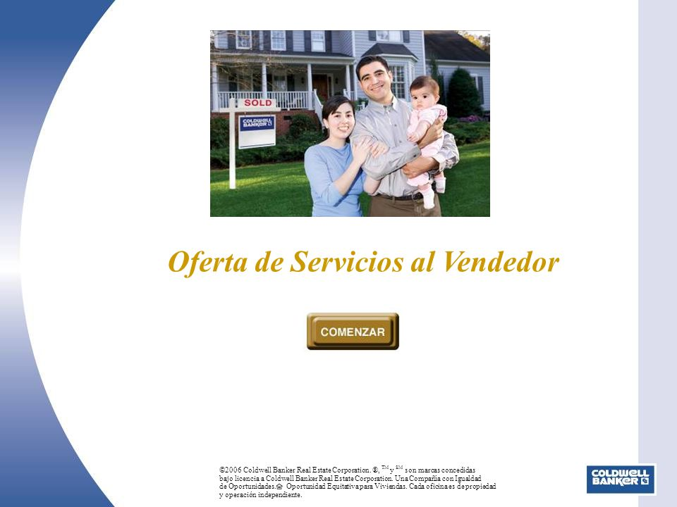 Oferta de Servicios al Vendedor