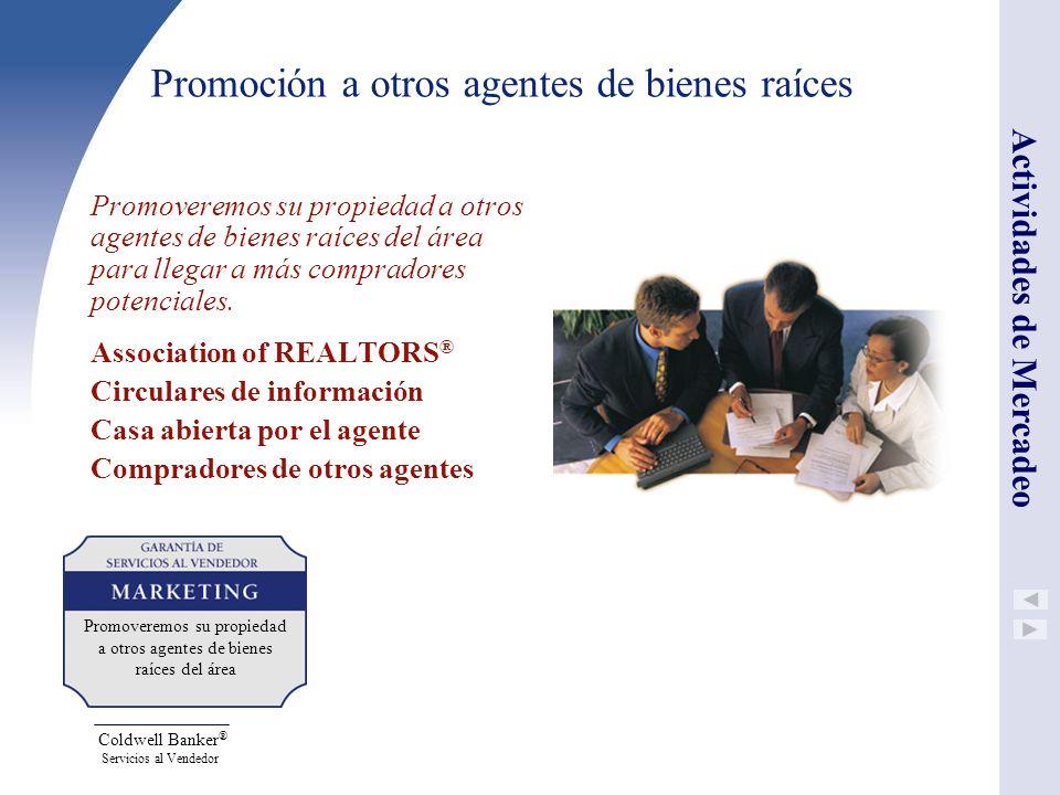 Promoción a otros agentes de bienes raíces
