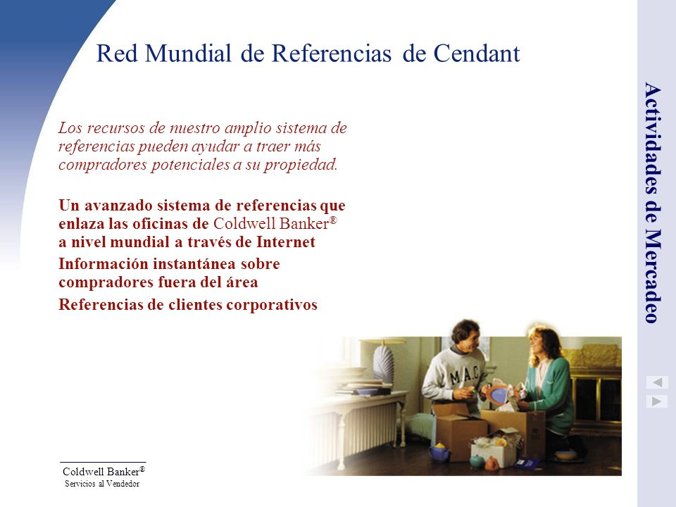 Red Mundial de Referencias de Cendant
