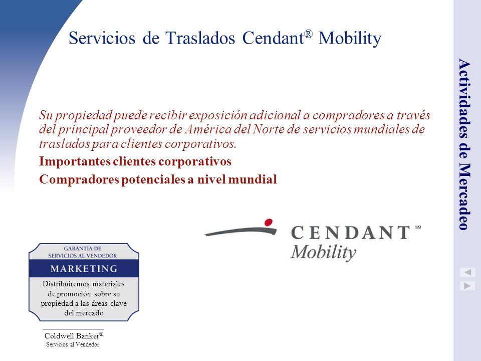 Servicios de Traslados Cendant® Mobility