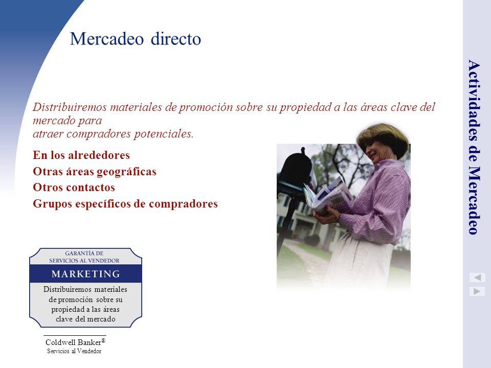 Mercadeo directo Actividades de Mercadeo