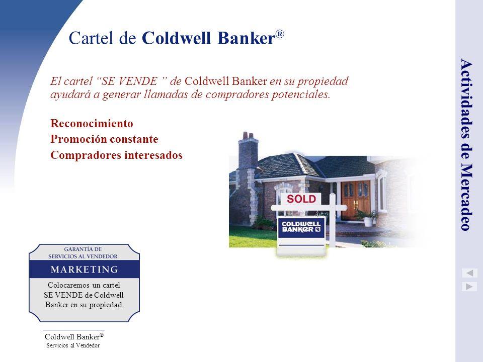 Cartel de Coldwell Banker®