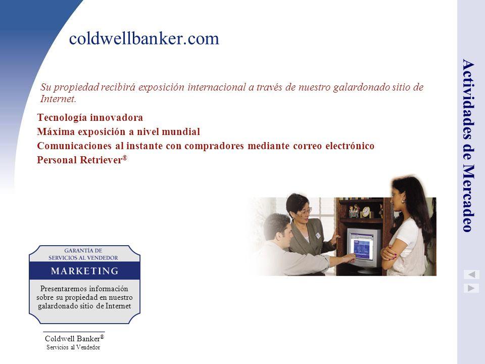 coldwellbanker.com Actividades de Mercadeo