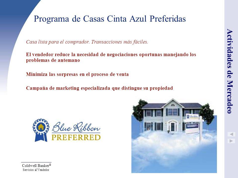 Programa de Casas Cinta Azul Preferidas