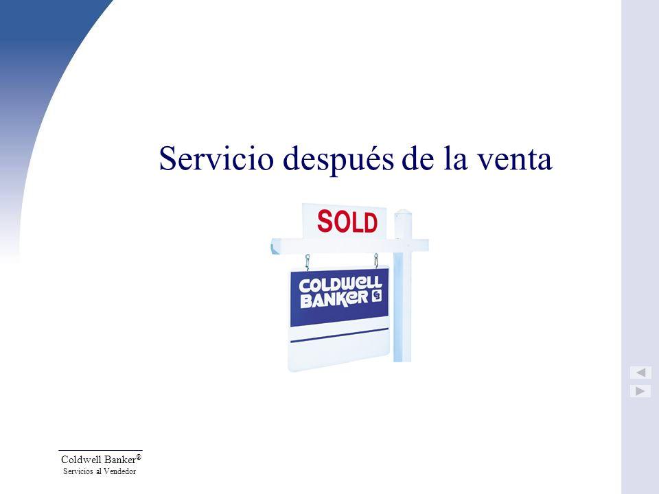 Servicio después de la venta