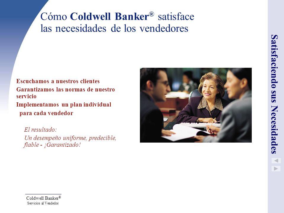 Cómo Coldwell Banker® satisface las necesidades de los vendedores