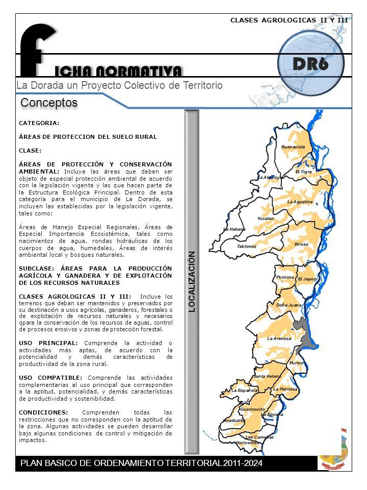 FICHA NORMATIVA DR6 Conceptos