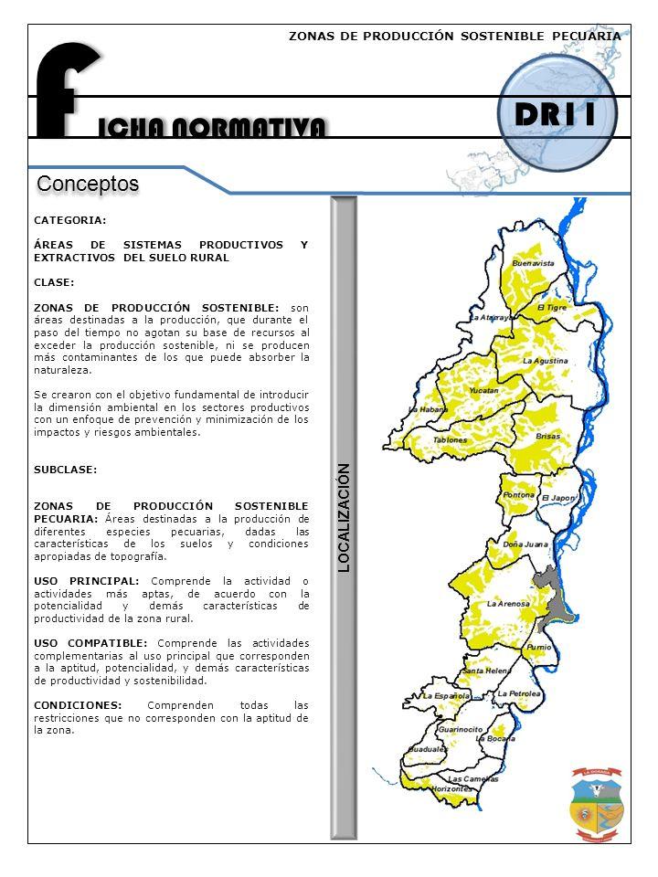 FICHA NORMATIVA DR11 Conceptos LOCALIZACIÓN